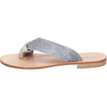 Zapatos Mujer Sandalias Calpierre sandalias gris gamuza beige textil BZ880 beige