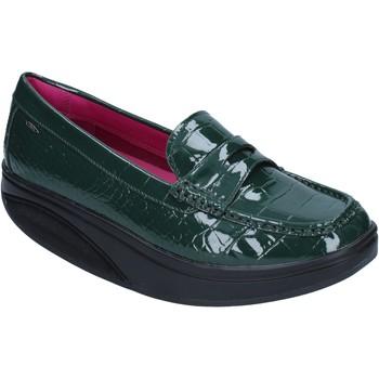 Zapatos Mujer Mocasín Mbt mocasines verde charol dynamic BZ906 verde