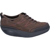 Zapatos Mujer Zapatillas bajas Mbt sneakers marrón nobuck performance BZ912 marrón
