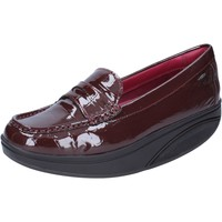 Zapatos Mujer Mocasín Mbt mocasines burdeos charol dynamic BZ917 rojo