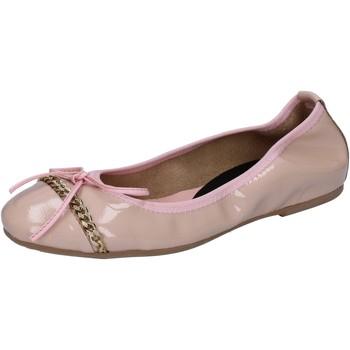 Zapatos Mujer Bailarinas-manoletinas Crown bailarinas rosado cipria charol BZ941 rosado