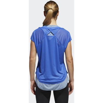 adidas Performance Camiseta Supernova TKO Two-in-One UV blue