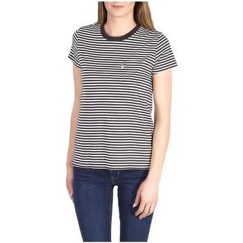 textil Mujer camisetas manga corta Levi's CAMISETA  THE PERFECT GINA Multicolor