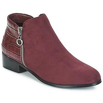Zapatos Mujer Botas de caña baja Moony Mood JADE Rojo