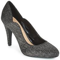 Zapatos Mujer Zapatos de tacón Moony Mood JANNEE Negro / Plateado