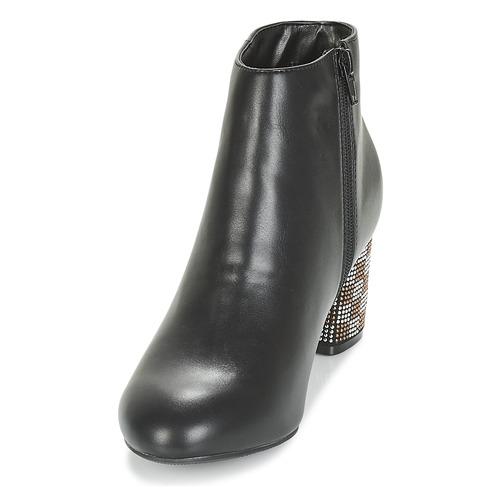 Moony Mujer Negro Mood Botines Japsera Zapatos J3KcluTF1
