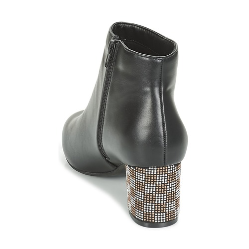 Mujer Japsera Zapatos Moony Negro Botines Mood xWBdEoQerC