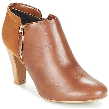 Zapatos Mujer Low boots Moony Mood JINNY Camel