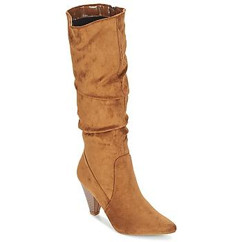 Zapatos Mujer Botas urbanas Moony Mood JULMA Marrón