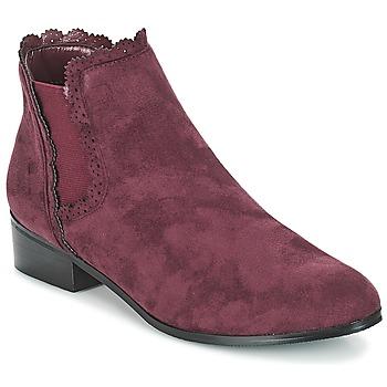 Zapatos Mujer Botas de caña baja Moony Mood JERMA Morado