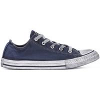 Zapatos Niño Zapatillas bajas Converse ALL STAR LO CANVAS LTD NAVY Blu