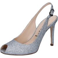 Zapatos Mujer Sandalias Capitini sandalias plata glitter BZ492 plata