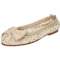 Zapatos Mujer Bailarinas-manoletinas Nu-Eva AE20 beige