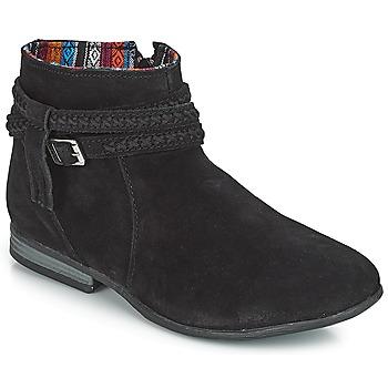 Zapatos Mujer Botas de caña baja Minnetonka DIXON BOOT Negro