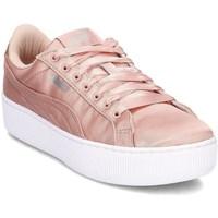 Zapatos Mujer Derbie & Richelieu Puma Vikky Platform EP Rosa