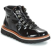 Zapatos Mujer Botas de caña baja Art TORONTO Negro