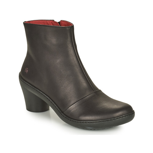 Zapatos Mujer Botines Art ALFAMA Negro