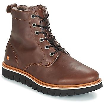 Zapatos Hombre Botas de caña baja Art TORONTO Marrón