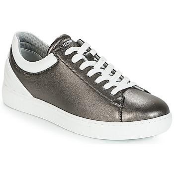 Zapatos Mujer Zapatillas bajas Emporio Armani BRUNA Estaño