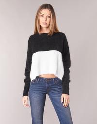 textil Mujer jerséis Diesel M AIRY Negro / Blanco