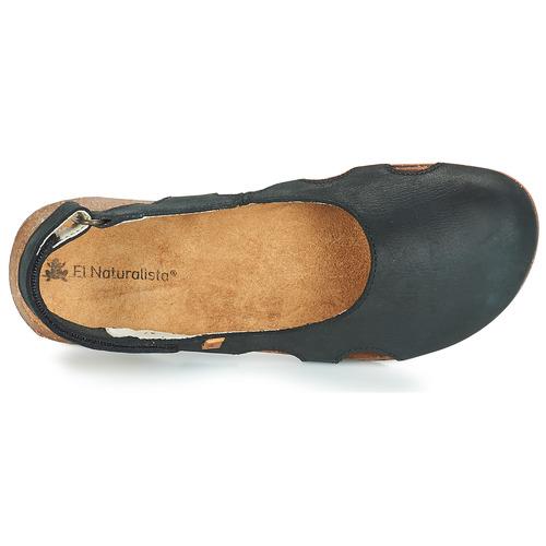 Casual salvaje Zapatos especiales El Naturalista WAKATAUA Negro