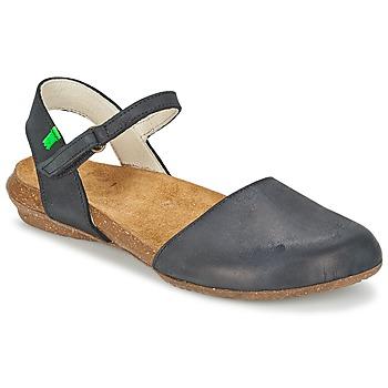 Zapatos Mujer Sandalias El Naturalista WAKATAUA Negro