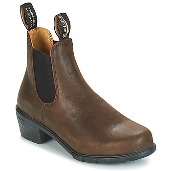 Zapatos Mujer Botas de caña baja Blundstone WOMEN'S HEEL BOOT Marrón