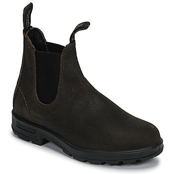 Zapatos Botas de caña baja Blundstone ORIGINAL SUEDE CHELSEA BOOTS Kaki