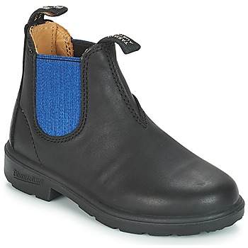 Zapatos Niños Botas de caña baja Blundstone KIDS BOOT Negro / Azul
