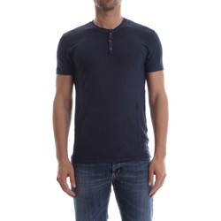 textil Hombre camisetas manga corta Wool&co Daniele Fiesoli WO 2201 T-SHIRT Hombre INDACO INDACO