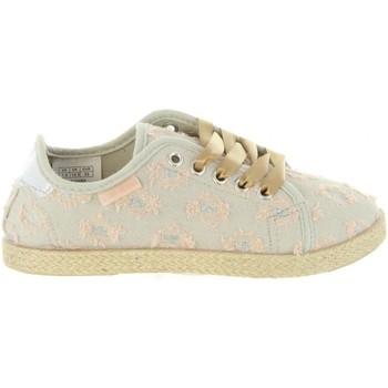Zapatos Niña Deportivas Moda Lois Jeans 60070 Beige