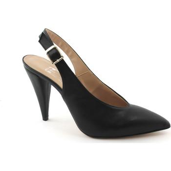 Zapatos Mujer Sandalias Divine Follie DIV-E18-7019-NE Nero
