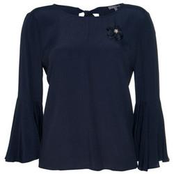 textil Mujer Tops / Blusas Kocca Blusa THETHGOR BLUE Azul