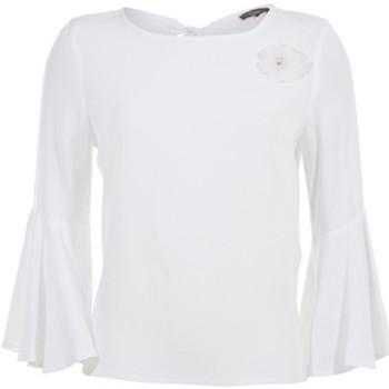 textil Mujer Tops / Blusas Kocca Blusa THETHGOR WHITE Blanco