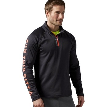 textil Hombre Sudaderas Reebok Sport Running Essentials Grafito