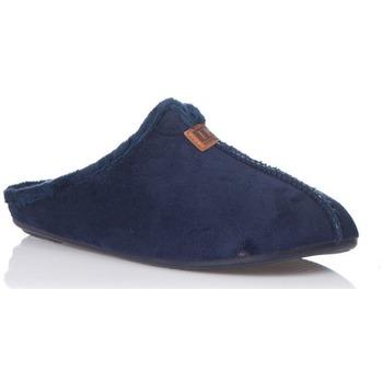 Zapatos Hombre Pantuflas Norteñas 10-145 Azul