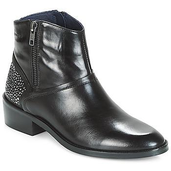 Zapatos Mujer Botas de caña baja Dorking CELINE Negro