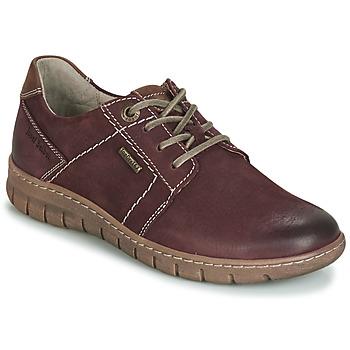 Zapatos Mujer Derbie Josef Seibel Steffi 59 Burdeo