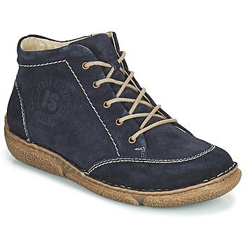 Zapatos Mujer Botas de caña baja Josef Seibel Neele 01 Marino