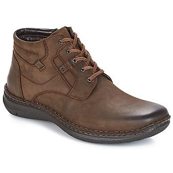 Zapatos Hombre Botas de caña baja Josef Seibel Anvers 35 Marrón