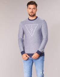 textil Hombre jerséis Guess TAMAC Azul