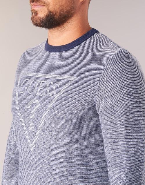 Jerséis Textil Guess Tamac Azul Hombre vmnw8PyON0