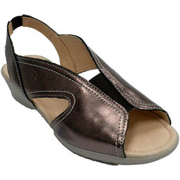 Zapatos Mujer Sandalias 48 Horas Sandalia mujer goma empeine gris