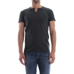 textil Hombre camisetas manga corta Wool&co Daniele Fiesoli WO 2373 T-SHIRT Hombre Antracite Antracite
