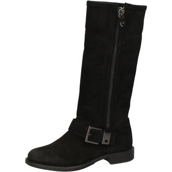 Zapatos Mujer Botas urbanas Twin Set TWIN-SET botas negro gamuza AE835 negro