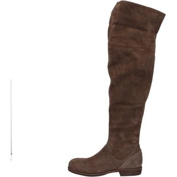Zapatos Mujer Botas a la rodilla Vic botas marrón gamuza AE871 marrón