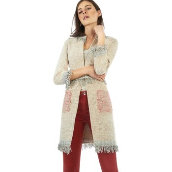 textil Mujer Abrigos The Extreme Collection Abrigo Mujer Bagatele Beige Beige