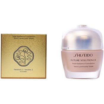 Belleza Mujer Base de maquillaje Shiseido Future Solution Lx Total Radiance Foundation 2-neutral 30 ml