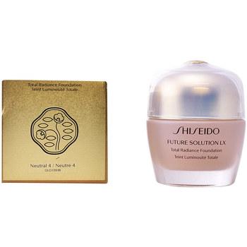 Belleza Mujer Base de maquillaje Shiseido Future Solution Lx Total Radiance Foundation 4-neutral 30 ml