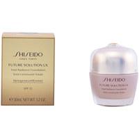 Belleza Mujer Base de maquillaje Shiseido Future Solution Lx Total Radiance Foundation 3-rose 30 ml